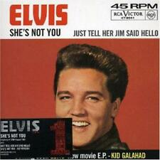 She's Not You von Elvis Presley (2005), Limited Edition, Single CD; Digipack,