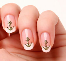 20 Nail Art Decals Transfers Stickers #303 - Anchor
