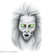 Halloween Horror Wall Grabber Ghostly Woman Face Sticker Decoration