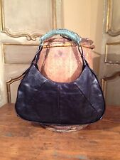 Authentic Yves Saint Laurent Leather Mombasa Womens Shoulder Bag Reg $2295
