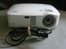NEC VT595 LCD PORTABLE PROJECTOR, CLEAN & BRIGHT IMAGE!! NEW LAMP!!!