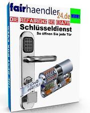 SCHLÜSSELDIENST Schlossöffnung So öffnen Sie jede Tür SCHLOSS EBOOK PDF E-Lizenz