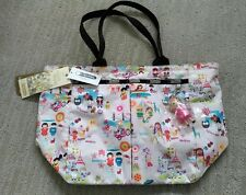 NWT Disney LeSportsac Its A Small World Around the World EveryGirl Tote