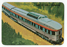 1986 Portugese Pocket Calendar showing Canadian Pacific Train from circa 1955