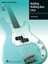 Instrument Instruction Bass Guitar: Building Walking Bass Lines by Hal...