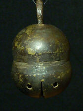 Rare Old Vintage Antique Brass Sheep Bell Goat Cow Horse Sleigh Reindeer Unicorn