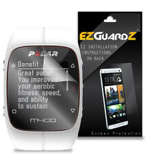 3X EZguardz LCD Screen Protector Skin Cover HD 3X For Polar M400 Fitness Watch