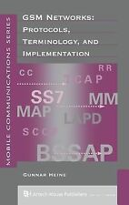GSM Networks: Protocols, Terminology and Implementation (Artech House Mobile Com