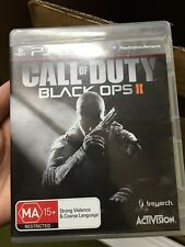 call of duty black ops 2 ii PS3 playstation 3