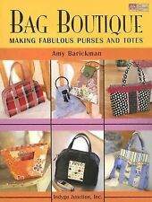Bag Boutique: Making Fabulous Purses and Totes-ExLibrary
