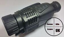 Digital IR Visione Notturna 5x40 4 xZoom binocoli da caccia Registratore Videocamera 200m Gamma