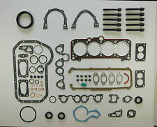 FULL HEAD SUMP BOTTOM GASKET SET BOLTS JETTA GOLF Mk 2 3 1.6 1.8 8V 83-95 GTi