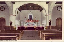 SANCTUARY OF OUR LADY QUEEN OF THE ANGELS LOS ANGELES CA cpyrt 1913 Plaza Church