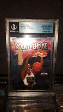 1997-98 Michael Jordan Hoops Rock the House Authentic Altered
