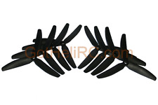 HQProp Tri Blades 5x4x3 BLACK MultiRotor propeller CW, CCW Mini 250mm Quadcopter