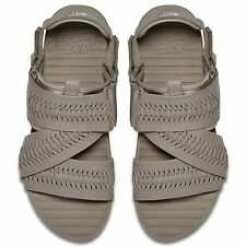 NIKE AIR SOLARSOFT ZIGZAG WOVEN QS SANDALS MENS SIZE US 8 LIGHT TAUPE 850588-200