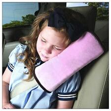 Imbottitura cinture di sicurezza auto spalline bambino Sonno cuscino rosa
