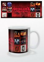 METALLICA ALBUMS MUG NEW 100 % OFFICIAL MERCHANDISE