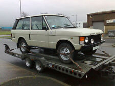 CLASSIC RANGE ROVER VEHICLE DELIVERY CAR TRANSPORT TRANSPORTATION SOUTH WALES