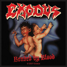 EXODUS - Patch Aufnäher - Bonded by blood neu!