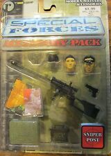 """7"""" Action Figure SPECIAL FORCES ACCESSORY PACKS Sniper Post"""
