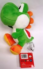 "Official NEW Green Yoshi Plush 7"" Nintendo Super Mario Bros Stuffed Toy"