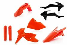 New Plastic Kit Acerbis OEM Orange KTM EXC EXC-F 125 250 300 350 450 500 2017