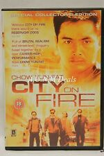 City on Fire chow yun-fat ntsc import dvd English subtitle