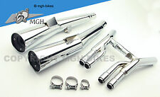 MARVING Auspuff Silencers Honda CB 750 Sevenfifty 92-02 RC42 NEW