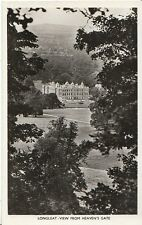 Wiltshire Postcard - Longleat - View from Heaven's Gate - Real Photograph  2829