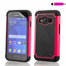 Shockproof Case Cover for Samsung Galaxy Ace Phones + Screen Protector & Stylus