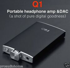 FiiO Q1 Portable USB DAC and Headphone Amplifier (Black) - OFFICIAL FIIO DEALER