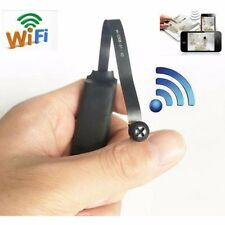 WIFI wireless IP Network 720p HD nanny screw Hidden SPY mini camera DIY Recorder