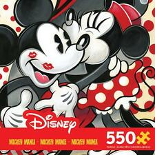 CEACO DISNEY MICKEY MANIA PUZZLE HUGS AND KISSES TIM ROGERSON 550 PCS #2319-3