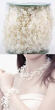 Good Quality 1 Meter Fishing Line Pearls Beads Chain Garland Wedding Decoration