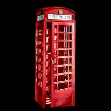 London Telephone Booth Authentic Model Replica Reproduction LIFE_SIZE