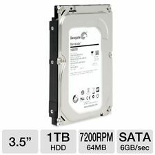 Seagate 1 TB SATA Barracuda Desktop Internal 7200RPM SATA Hard Disk 1 TB HDD +b