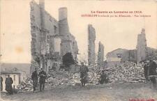 CPA 54 ANTHELUPT BOMBARDE PAR LES ALLEMANDS