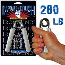 Captains of Crush GOLD STANDARD Hand Gripper Lifting, Therapy - No. 3 (280 LB)