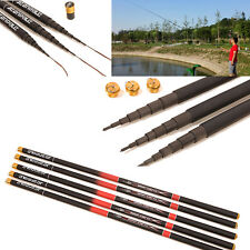1Pc Telescopic Freshwater Hand Fishing Pole Strong Carbon Fiber Fishing Rod 3.6M