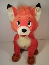 """Disney Store Exclusive 14"""" Fox And The Hound Plush Todd Stuffed Animal Toy HTF"""