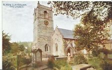 Wales Postcard - Llangollen - The Church  U281