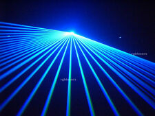 2000mw Blue DMX512 American ILDA DJ CLUB Laser stage lighting 2W 20K