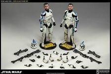 Star Wars Sideshow Trooper Echo and Five 1/6 Scale Figure 2 Pack