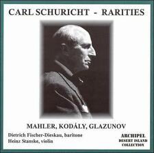 Carl Schuricht Rarities: Mahler, Kod ly, Glazunov, New Music