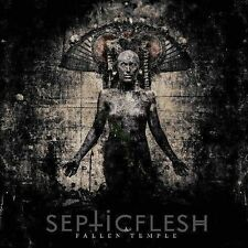 Septicflesh - A Fallen Temple CD 2014 digipack Septic Flesh reissue bonus tracks