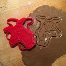 Courage the Cowardly Dog cookie cutter - 1pcs - Plastic 3d printed (PLA)