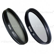 Vivitar 95mm CPL Circular Polarizing Filter + UV Filter