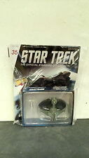 *#35 STAR TREK STARSHIPS COLLECTION KLINGON BIRD-OF-PREY ENTERPRISE WARS