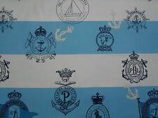 Ralph Lauren Fabric 'Seaworthy Crest' 2.6 METRES Harbour - Signature Sur la Cote